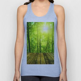 Asian Forest || Unisex Tank Top