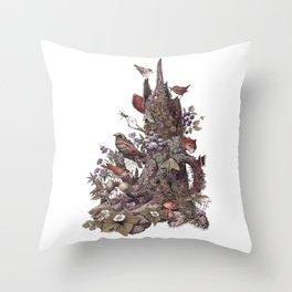 Stump (no labels) Throw Pillow
