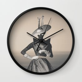 Epigenetic Vertigo Wall Clock