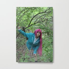 Moka Akashiya: Out of the woods  Metal Print