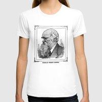 darwin T-shirts featuring Charles Robert Darwin by Bramble & Posy