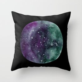 Trust the Universe Black Throw Pillow