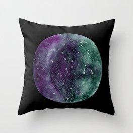 Trust the Universe Black Throw Pillow