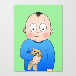 Bed Time Buddy Canvas Print