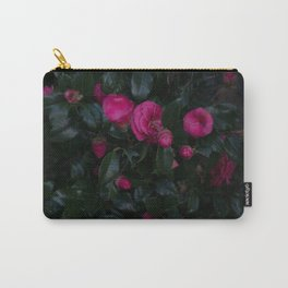 Jeju Flowers Carry-All Pouch