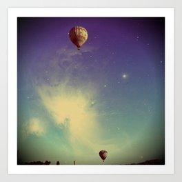 Magical Sky Art Print