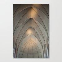 concrete Canvas Prints featuring Concrete by Daniel Fornies