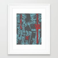 bali Framed Art Prints featuring Bali by The Happy Scientist