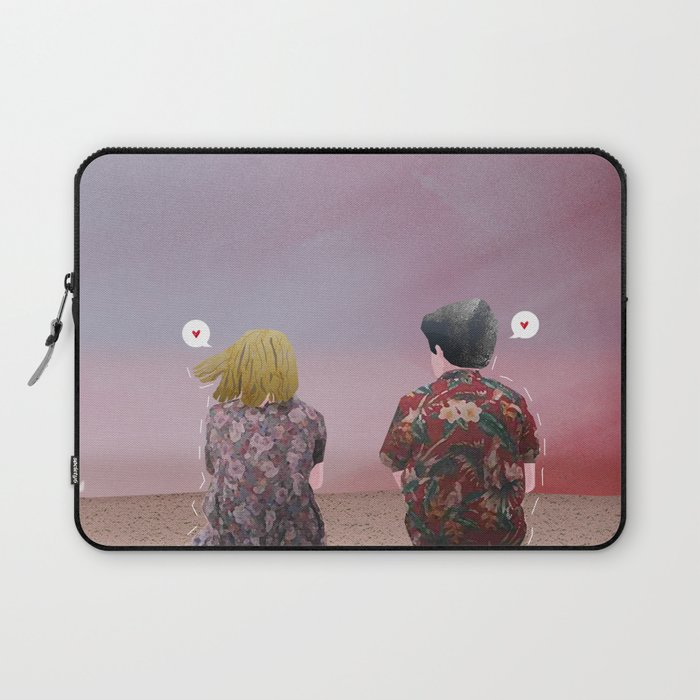 The End of the Fucking World Laptop Sleeve