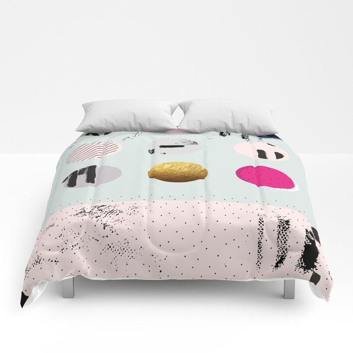 Pastel Hues Comforters