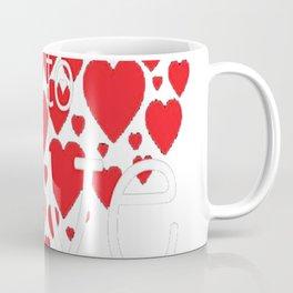 'To Teach is to Love' Cute Valentine's Day Teaching Shirt Coffee Mug