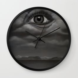 View over the Moray Firth Wall Clock