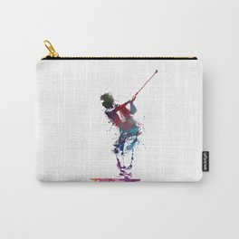 Golf player art 1 Carry-All Pouch