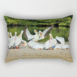 I'm Not Arguing I Am Explaining Why I Am Right Rectangular Pillow