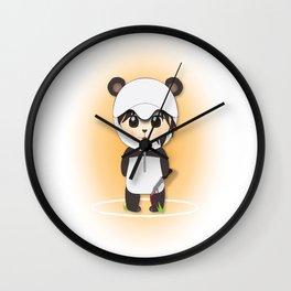 Chibi Panda-lecki Wall Clock