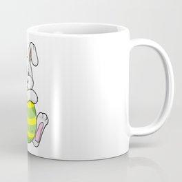 Bunny with long Ears and Egg Coffee Mug