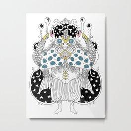 Sea King Metal Print