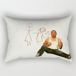 Yeah, well, Gab and Em say I'm awesome. Rectangular Pillow