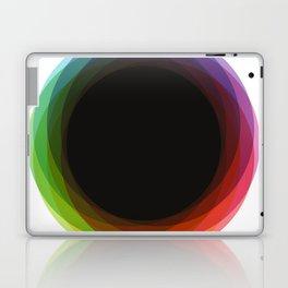 Fig. 039 Rainbow Circle Laptop & iPad Skin