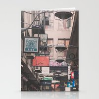 melbourne Stationery Cards featuring Melbourne Laneway by Oy Photography