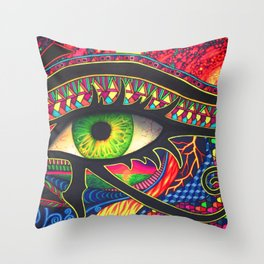 Eye Of Wonder Throw Pillow