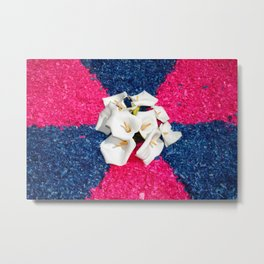 Flower carpets Metal Print