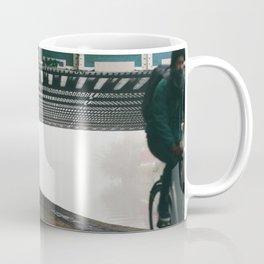 London Fog in Regents Canal II  by Diana Eastman Coffee Mug