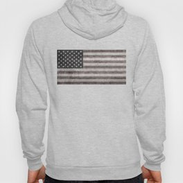 American flag, Retro desaturated look Hoody