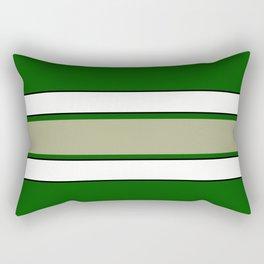 TEAM COLORS 2...GREEN,TAN Rectangular Pillow