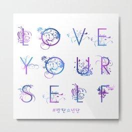 Kpop BTS: LOVE YOURSELF! Metal Print