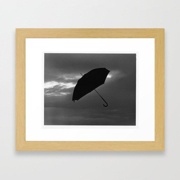 Caught Up Framed Art Print