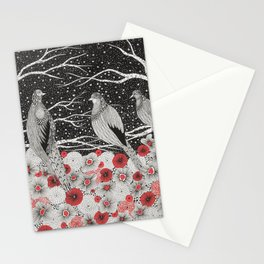 Three Birds Stationery Cards