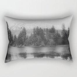 View of Mount Shasta Rectangular Pillow