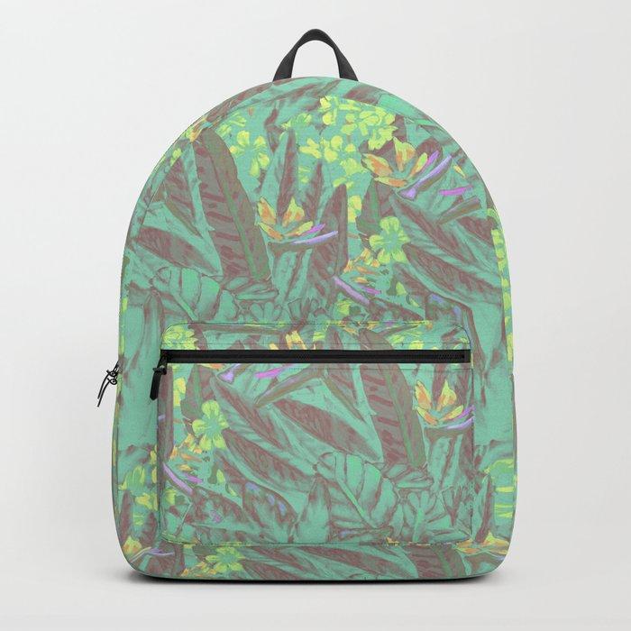 Tropical Paradise: Jade Jungle Backpack