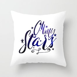Oh My Stars | Inverse Throw Pillow