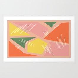 Pieced Together Art Print
