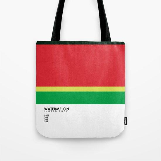 Pantone Fruit - Watermelon Tote Bag