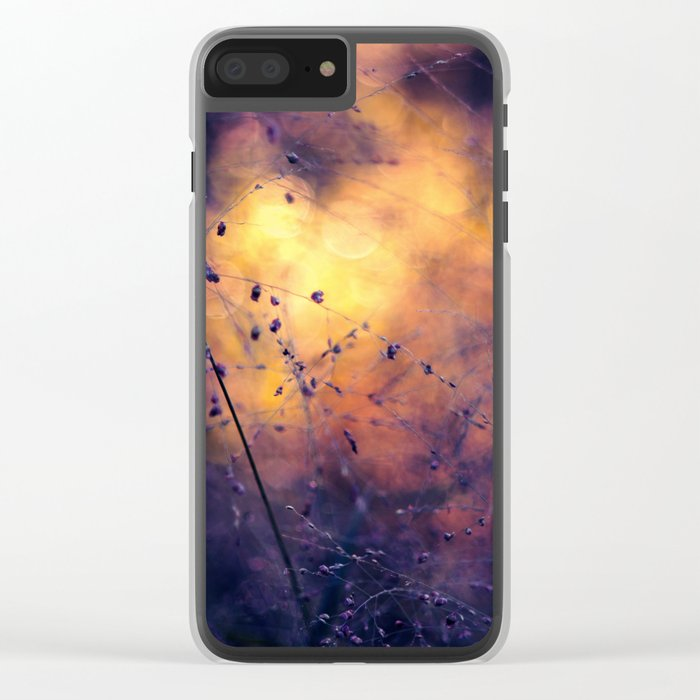 The City of Fireflies Clear iPhone Case