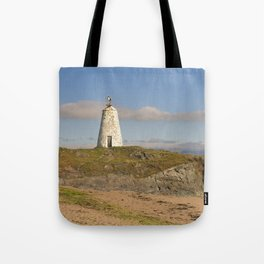 Twr Bach Lighthouse Tote Bag