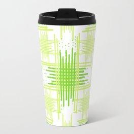 Intersecting Lines Pattern Design Travel Mug
