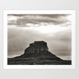 Beautiful photo taken at Chaco Culture National Park Art Print