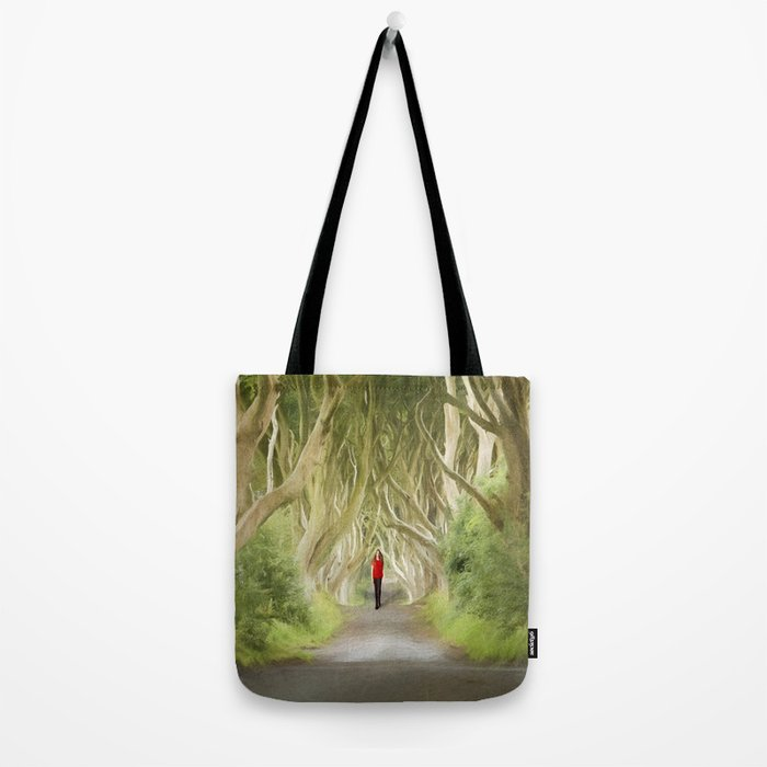 Through the Hedges Tote Bag