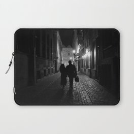 Brussels, a night walk in the heart of Europe Laptop Sleeve