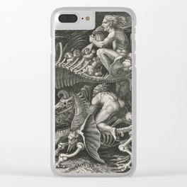 The Haggery - Agostino Veneziano (1520) Clear iPhone Case