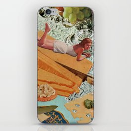 Money Can't Buy You Happiness, But It Can Buy You Cheese iPhone Skin
