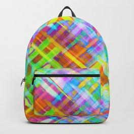 Colorful digital art splashing G71 Backpack