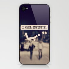 I Feel Infinite iPhone & iPod Skin