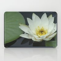 rileigh smirl iPad Cases featuring Water Lilly by Rileigh Smirl