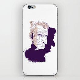 Sam Beckett iPhone Skin