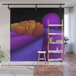 experiments on fractals -4- Wall Mural